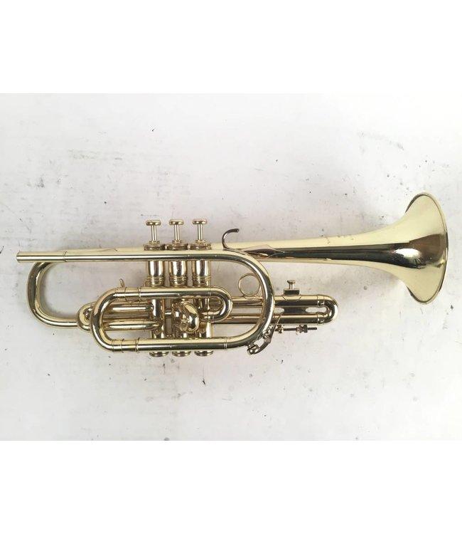 Benge Used LA Benge 3X Bb cornet