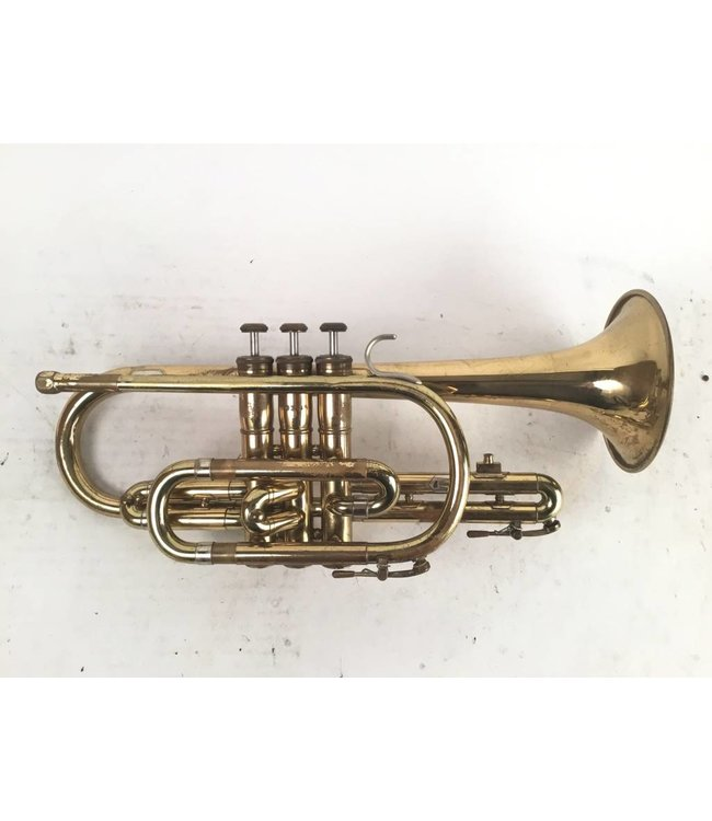 Olds Used Olds Ambassador Bb student cornet