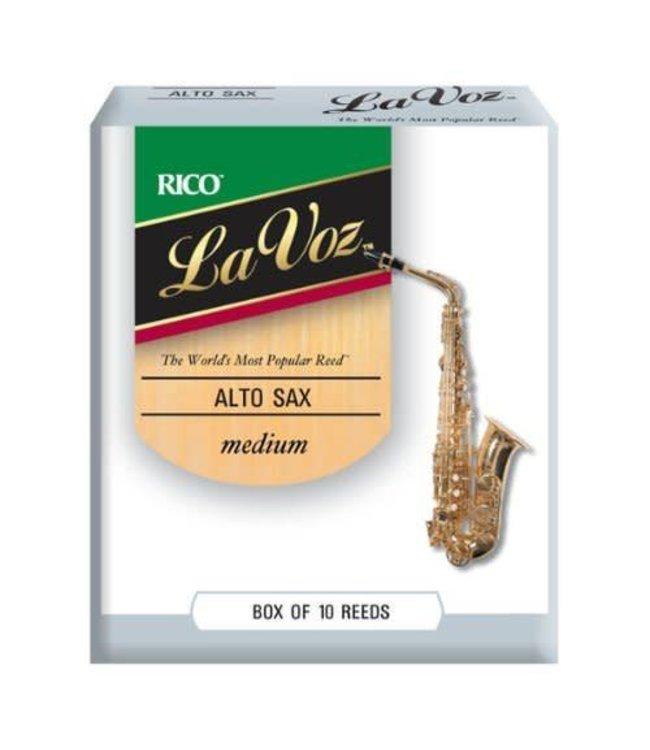 Rico Rico La Voz Alto Saxophone Reeds, Box of 10