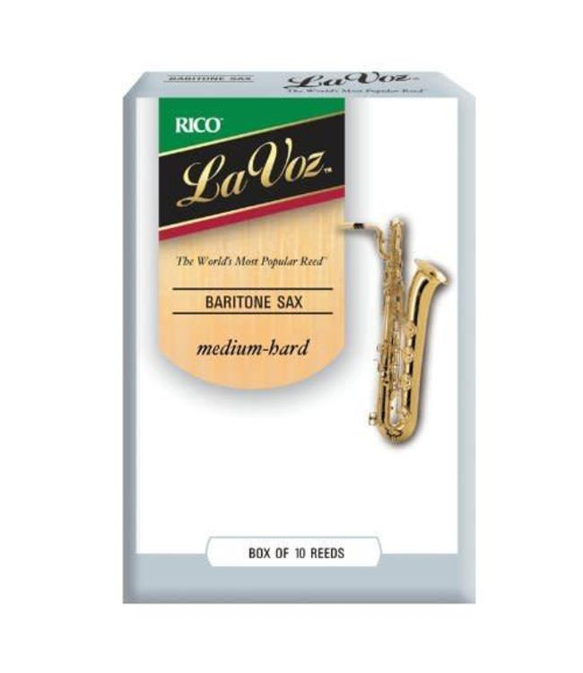 Rico Rico La Voz Baritone Saxophone Reeds, Box of 10