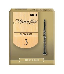 Rico Rico Mitchell Lurie Bb Clarinet Reeds, Box of 10