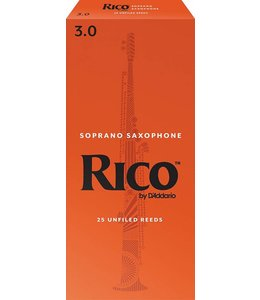 Rico Rico Soprano Saxophone Reeds, Box of 25