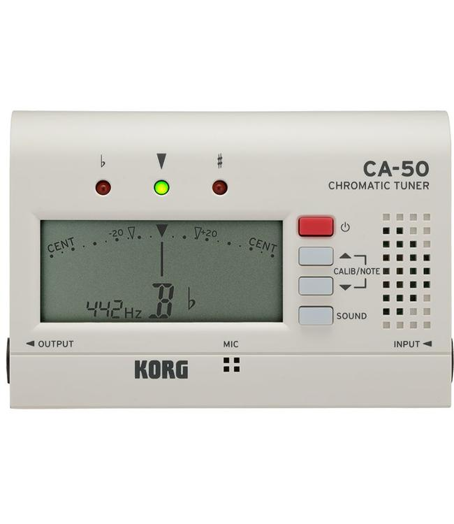 Korg Korg Chromatic Tuner w/ Output Jack, Folding Stand CA-50