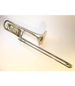 King Used King 5B Silvertone Bb/F Professional Tenor Trombone