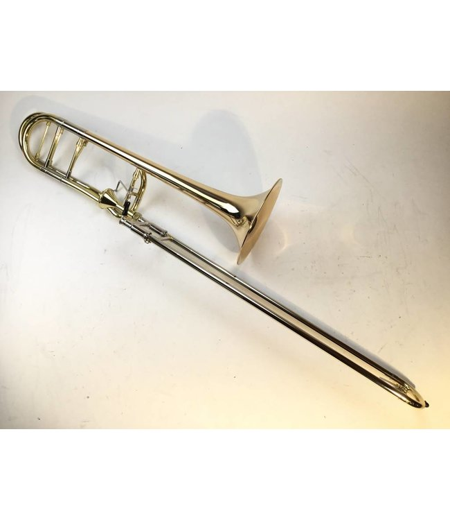 Dillon Demo Dillon Axial Flow Valve Bb/F Tenor Trombone with Gold Brass Bell