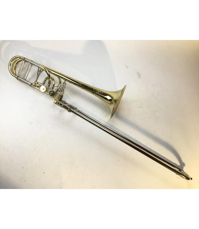 Shires Used Shires Double Trigger Bb/F/Gb/D Tenor Trombone