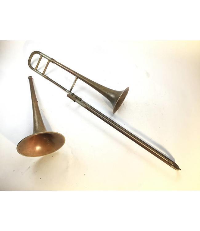 Scherzer Used Scherzer Bb Tenor Trombone with Two Bell Flares