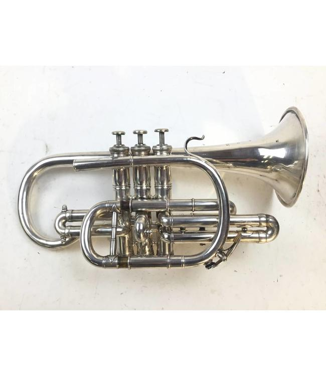 Besson Used French Besson Brevete Bb Cornet