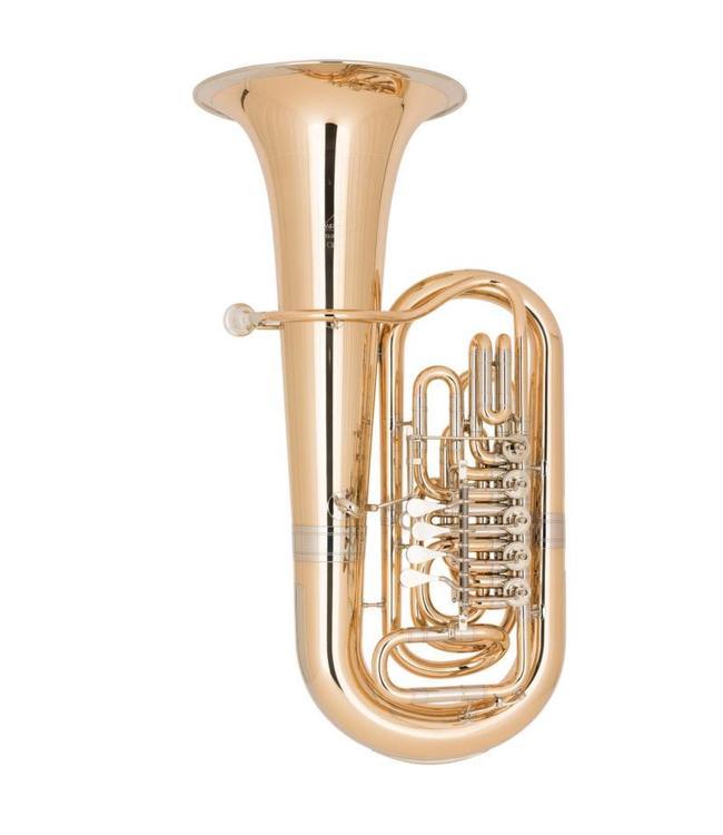 Miraphone Miraphone Starlight model 383 EEb Tuba in Gold Brass
