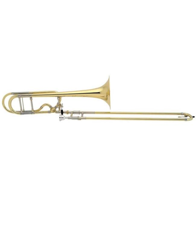 Bach Bach Artisan La Rosa Series Model A47MLR tenor Trombone with gold brass bell and nickel silver tuning slide