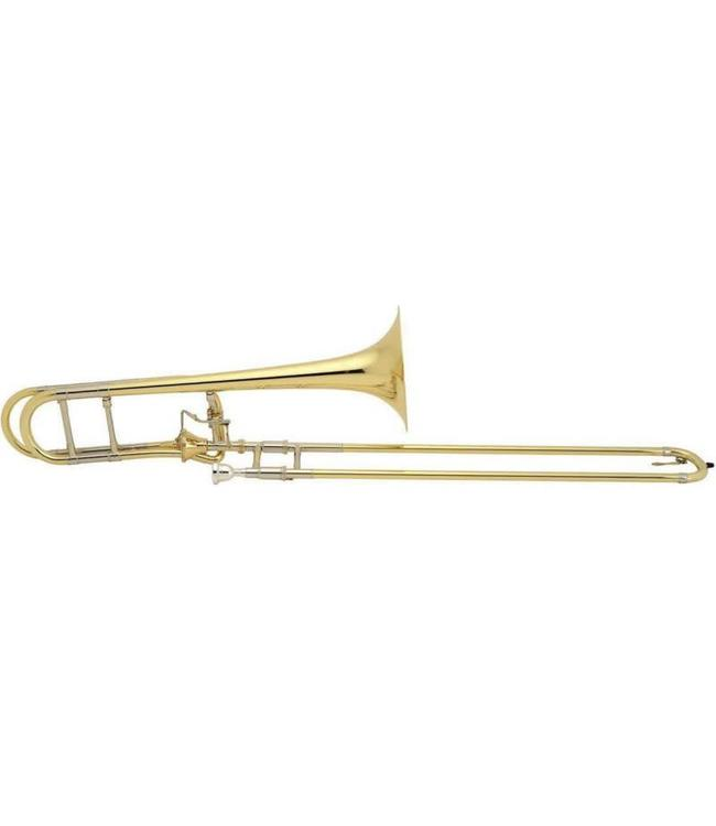 Bach Bach Artisan Model A47I Tenor Trombone with gold brass bell and gold brass tuning slide