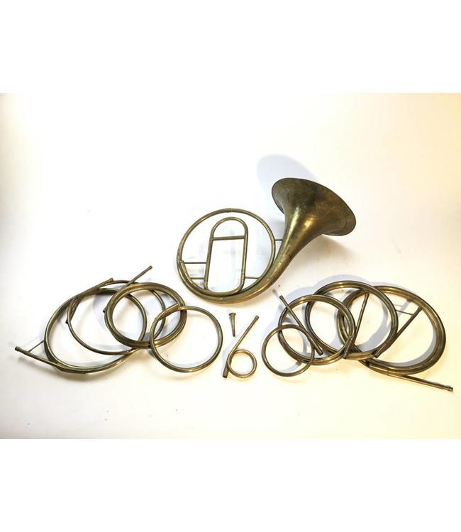 Sautermeister Used Sautermeister Natural Horn with Various Key of Crooks.