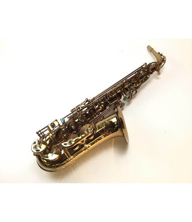 P. Mauriat Used P. Mauriat Cognac Lacquer Alto Saxophone