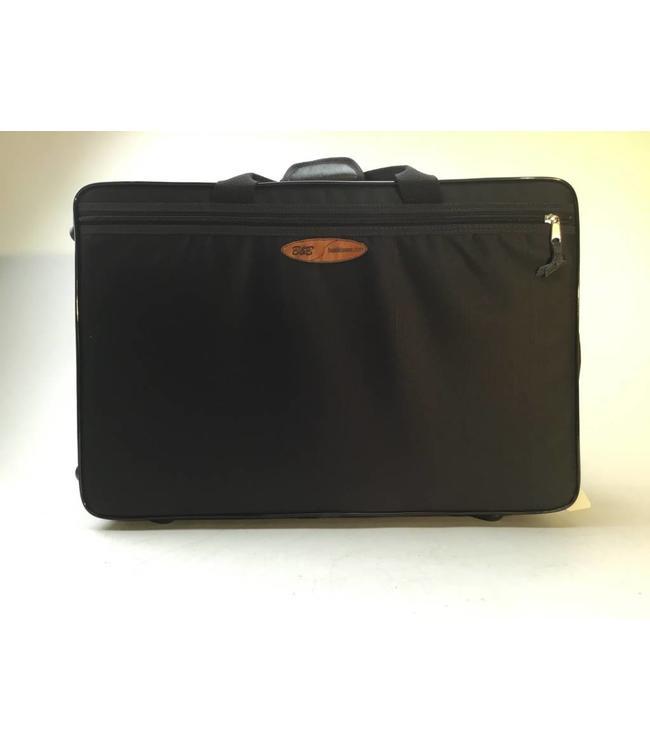 Basili Cases Basili Cases Double Trumpet and Flugelhorn cases in black nylon