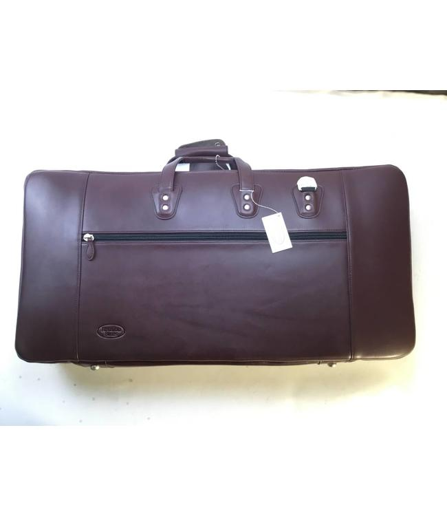 Reunion Blues Used Reuion Blues Bassoon Bag 4 section Burgundy Leather