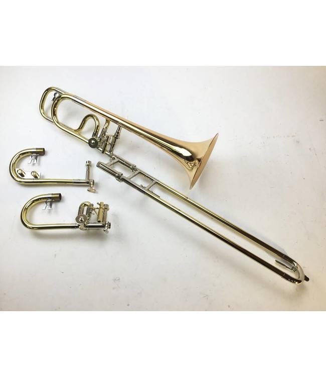 Rath Used Rath Eb/Bb Alto Trombone with Trill Valve and Straight Gooseneck