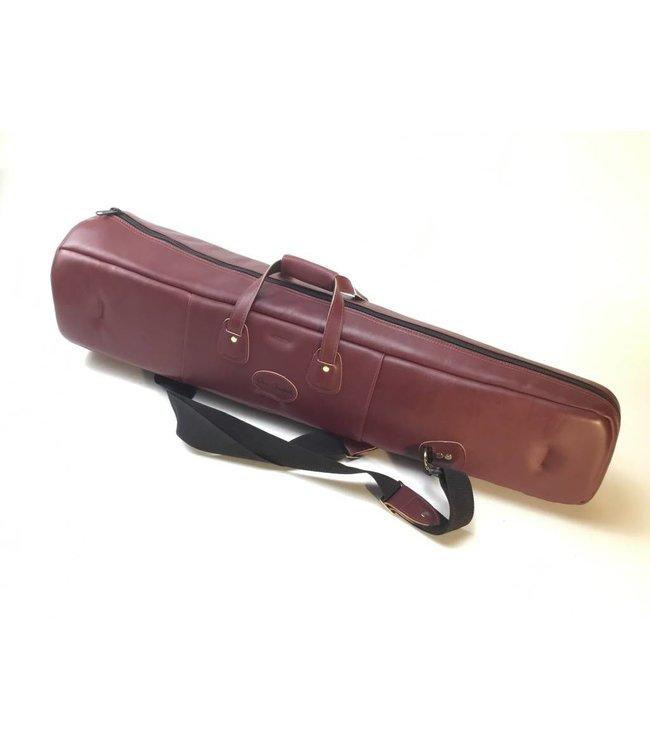 Cronkhite Used Cronkhite Small Straight Tenor Trombone Case- Cinnamon, Leather