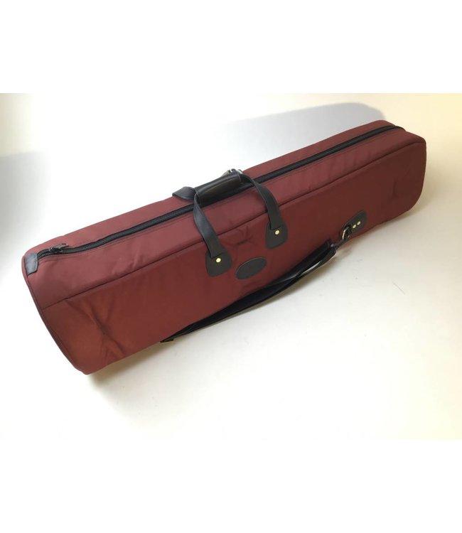 Cronkhite Used Cronkhite Large Tenor Trombone Case- Burgundy, Fabric