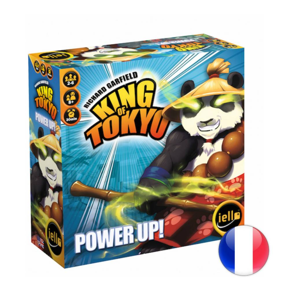IELLO King of Tokyo Power Up! 2e édition