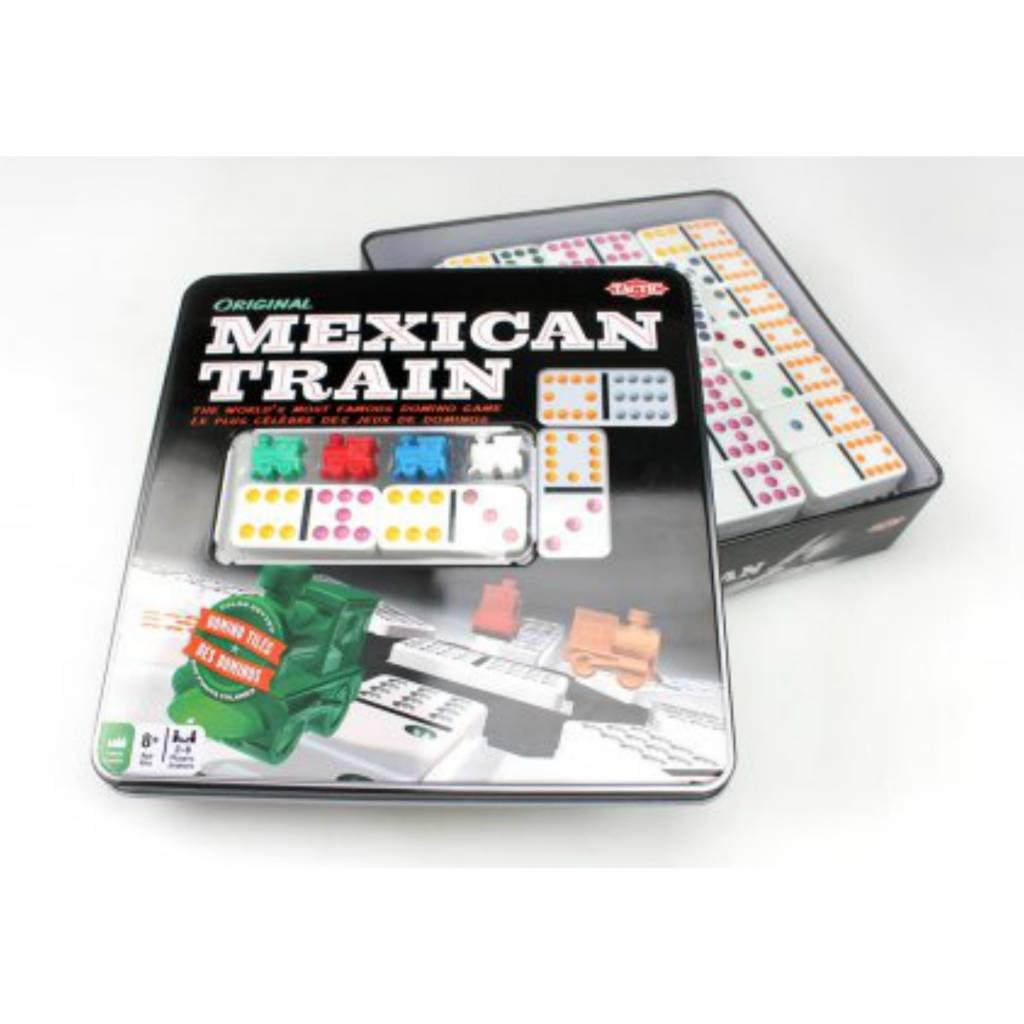 Tactic Mexican Train / Tin Box