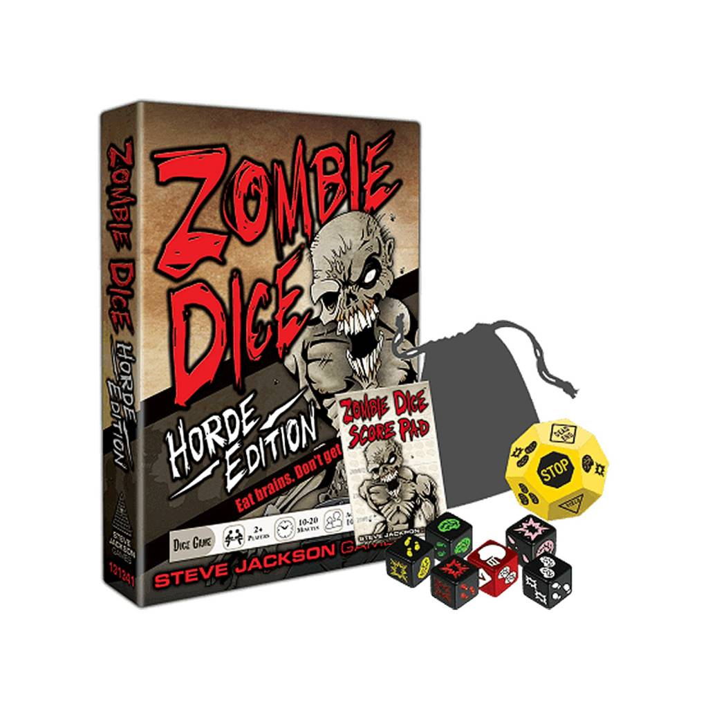 Steve Jackson Games Zombie Dice Horde Edition
