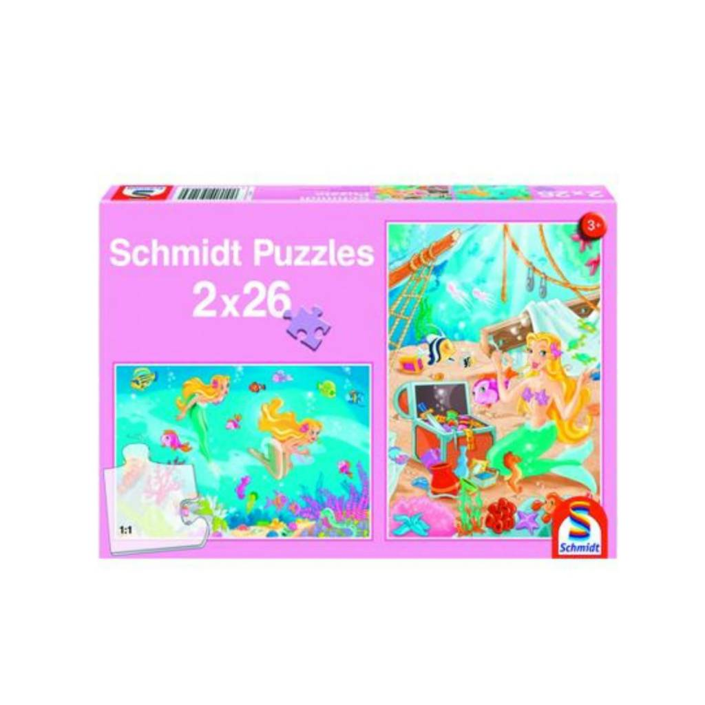 Schmidt Puzzle: Child 2X26 Mermaid