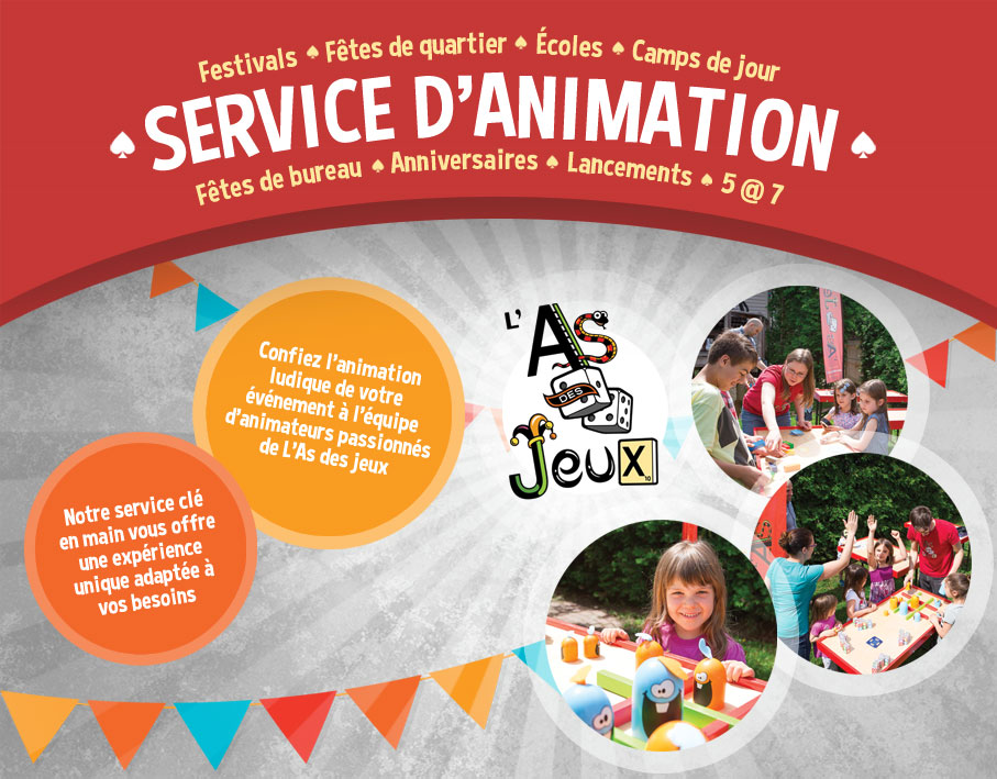 Service d'animation