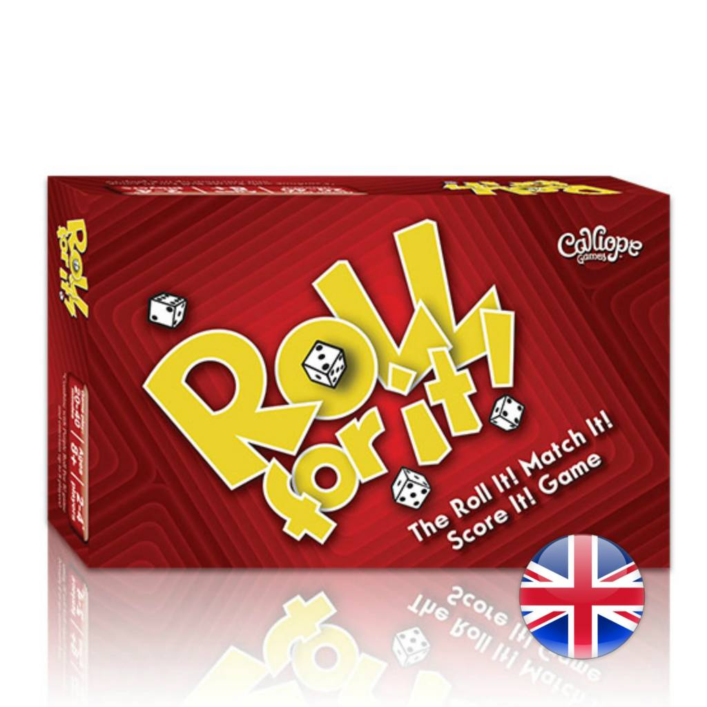 Calliope Games Roll for it! Red