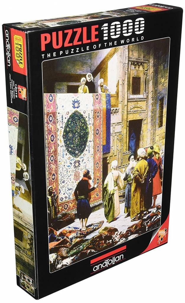Anatolian Puzzle 1000:  Carpet Seller Anatolian