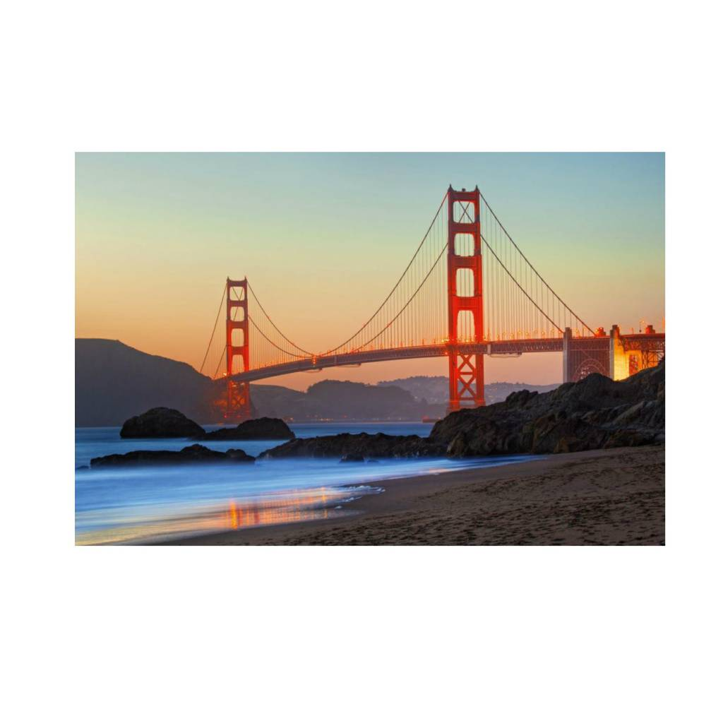 Schmidt Puzzle 1000:  Golden Gate  Bridge Schmidt