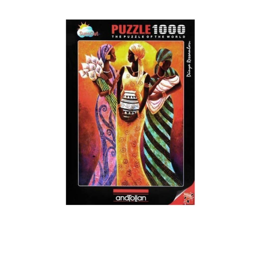 Anatolian Puzzle 1000:  Sisters Of The Sun Anatolian