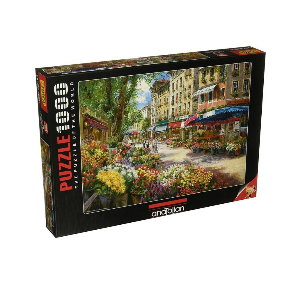 Anatolian Puzzle 1000: Paris  Flower Market Anatolian