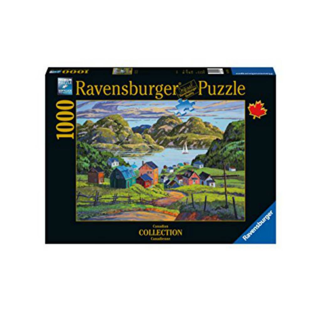 Ravensburger Puzzle 1000: A Lake in Charlevoix Ravensburger