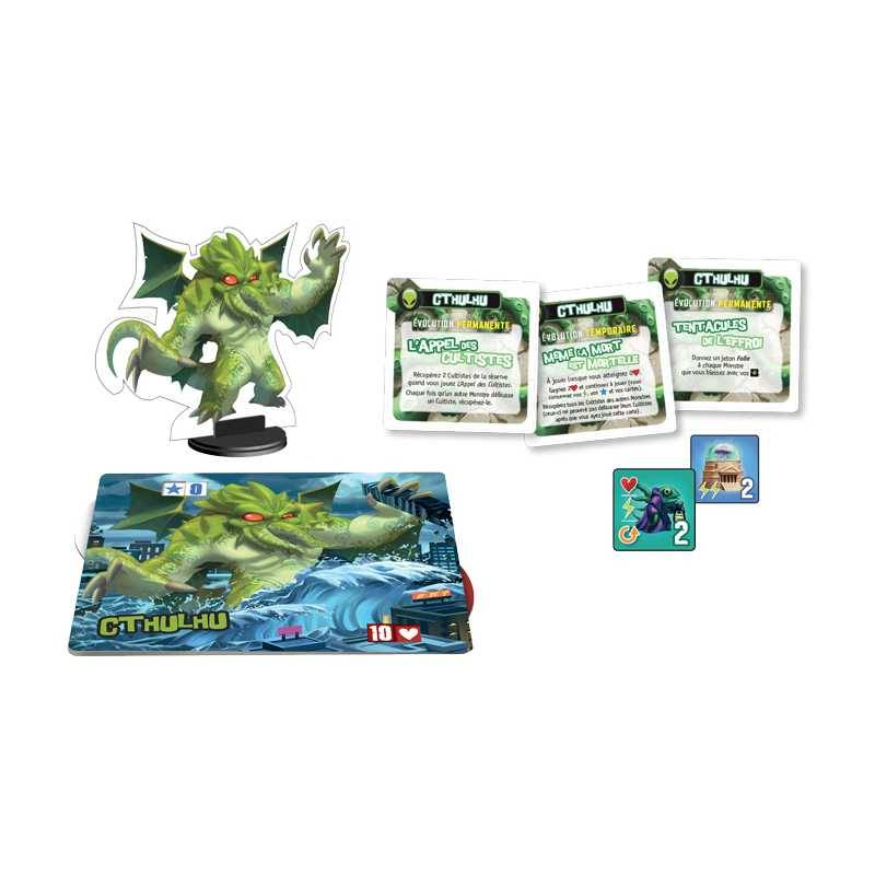 IELLO King of Tokyo Monster Pack Cthulhu
