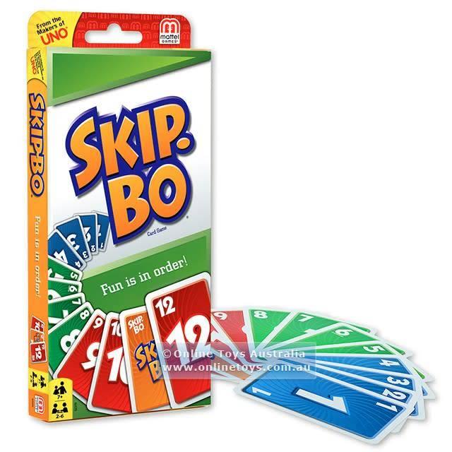 Mattel Inc. Skip Bo jeu de cartes (multi)