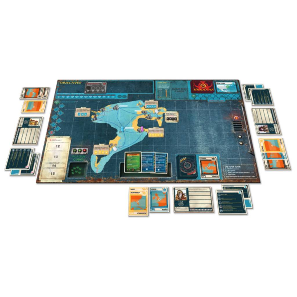 Z-Man Pandemic Legacy (Black Edition) Season 2