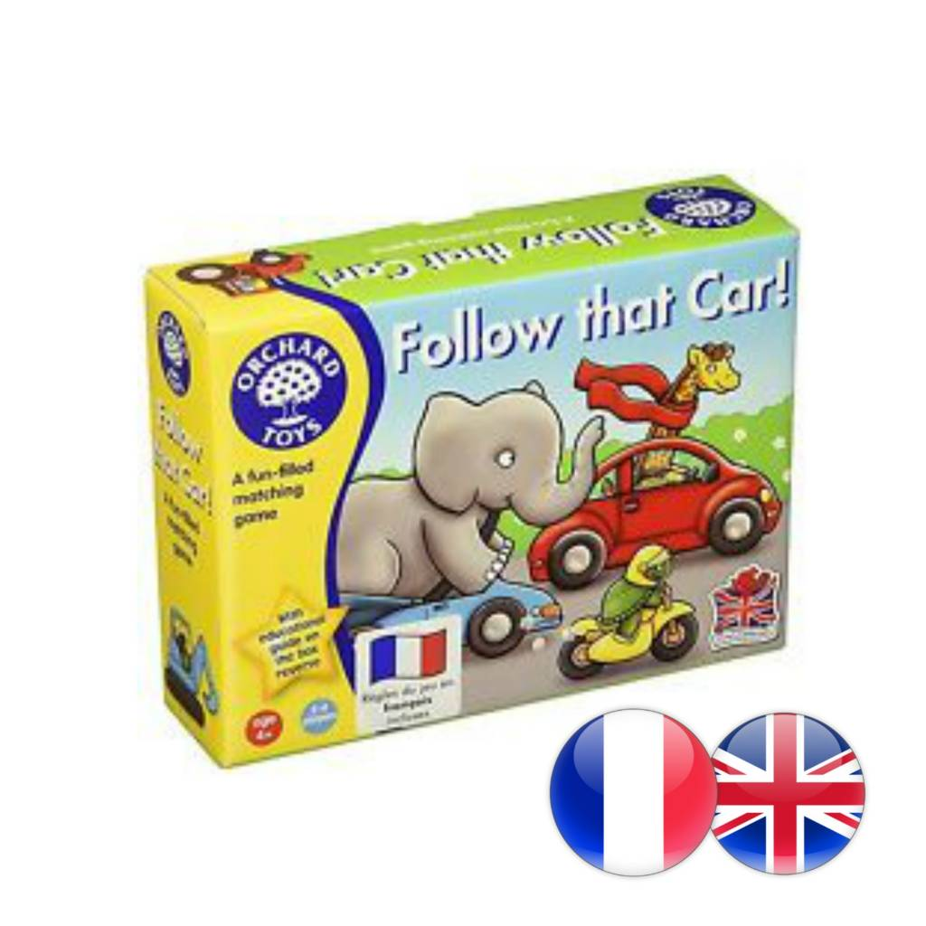 Orchard Toys Follow the Car Multi