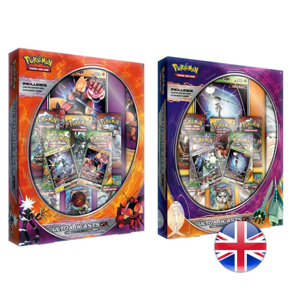 Pokemon Company Pokémon Ultra Beasts GX Premium Collection Box