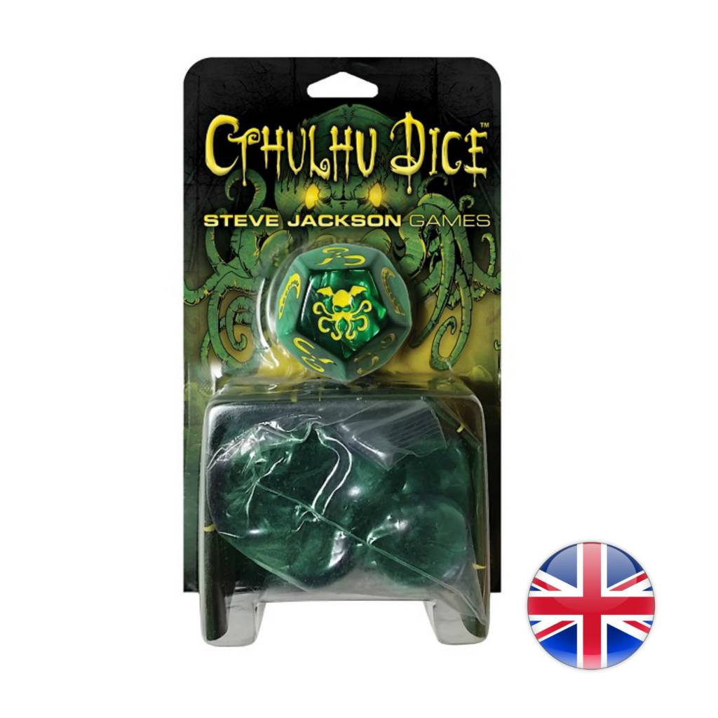 Steve Jackson Games Cthulhu Dice 2017 Edition