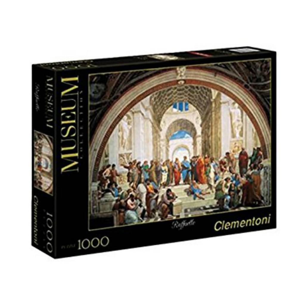 Clementoni Puzzle 1000: Rafaello Ecole d'Athen Clementoni