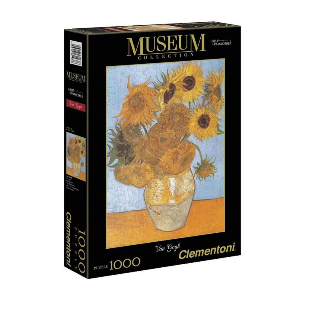 Clementoni Puzzle 1000 V.V.Gogh: Les Tournesols Clementoni
