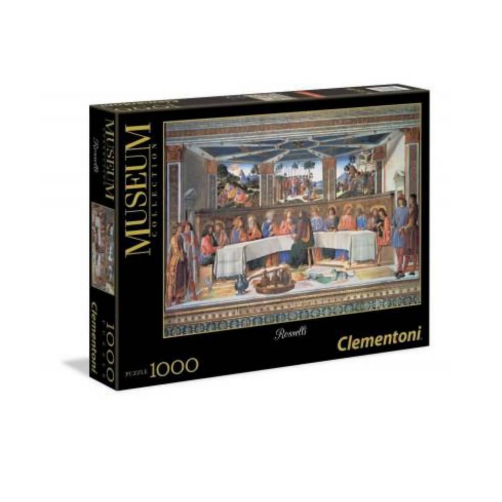 Clementoni Puzzle 1000: Le dernier repas Clementoni
