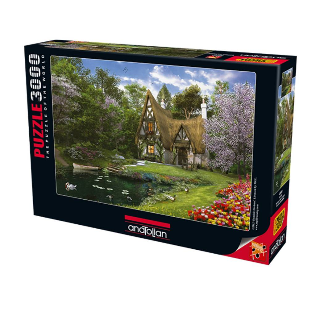Anatolian Puzzle 3000:  Spring Lake  Cottage Anatolian