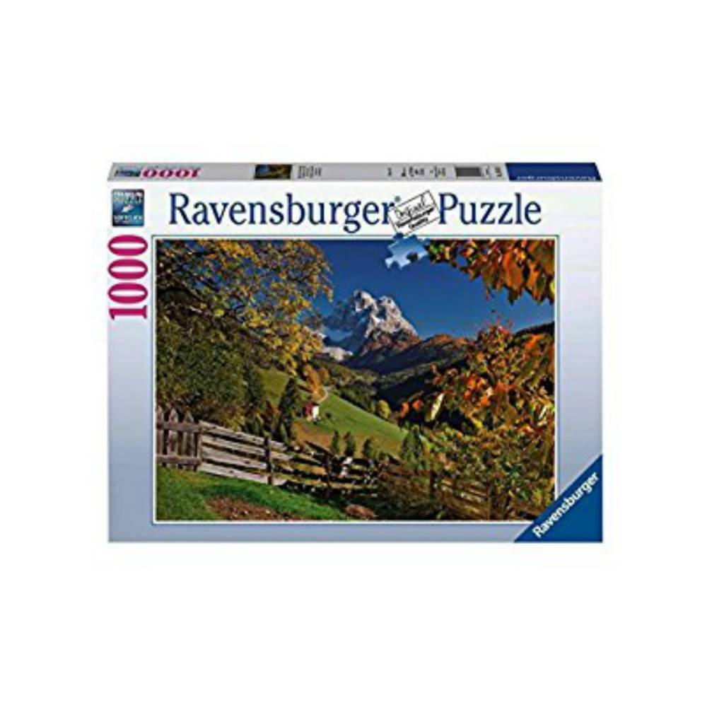 Ravensburger Puzzle 1000: Mountains in Autumn Ravensburger