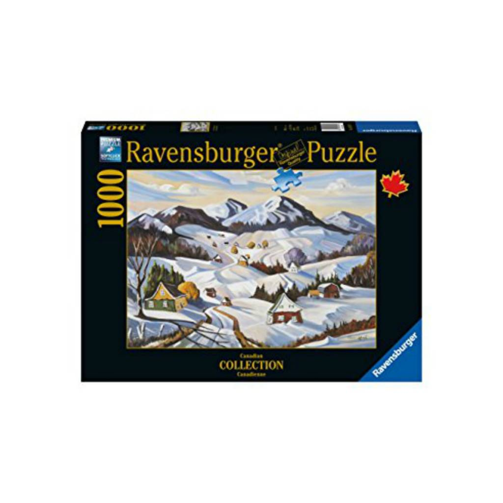 Ravensburger Puzzle 1000: Winter in Charlevoix, Ravensburger