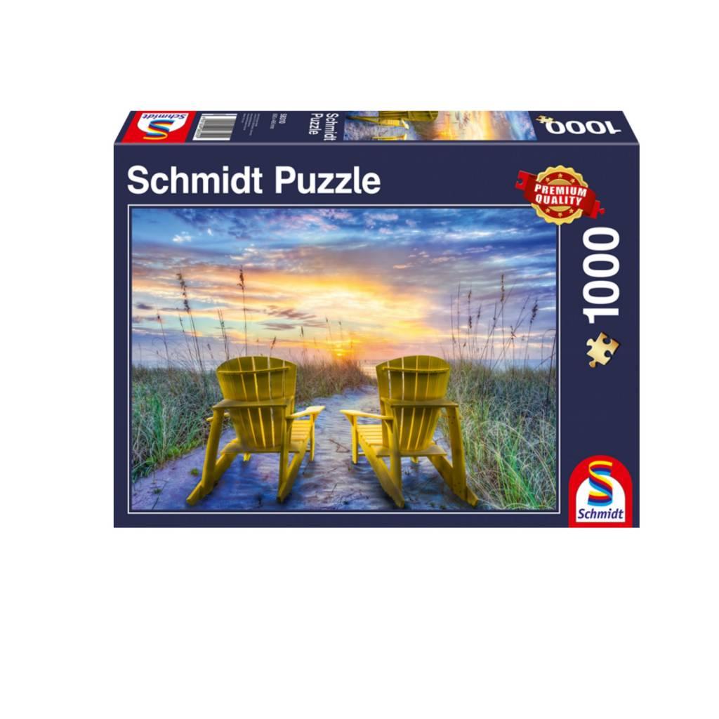 Schmidt Puzzle 1000: Sunset View Schmidt