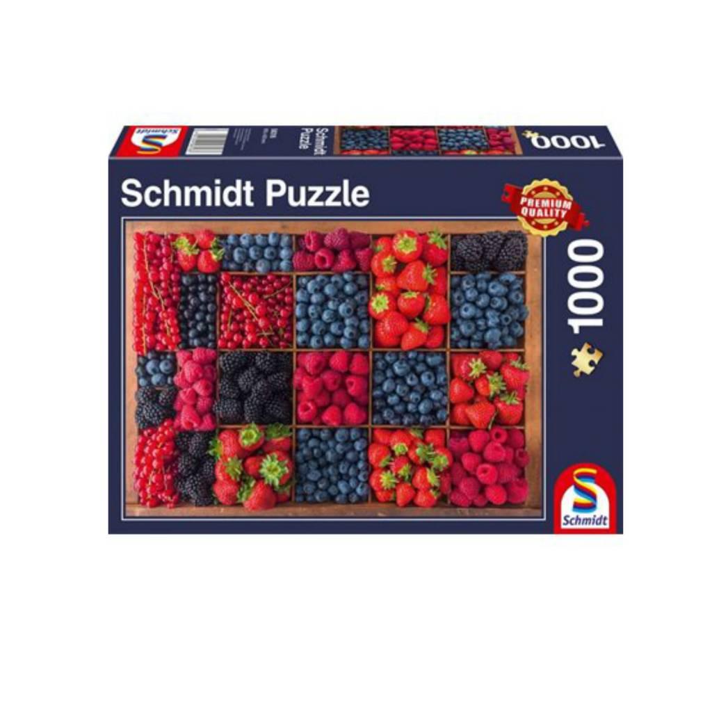 Schmidt Puzzle 1000: Berry Harvest Schmidt