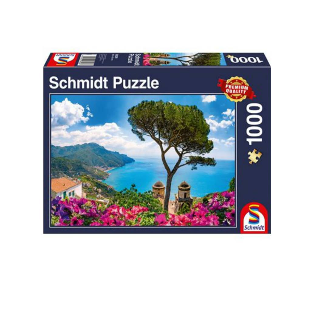 Schmidt Puzzle 1000: View over the Amalfi Coast Schmidt