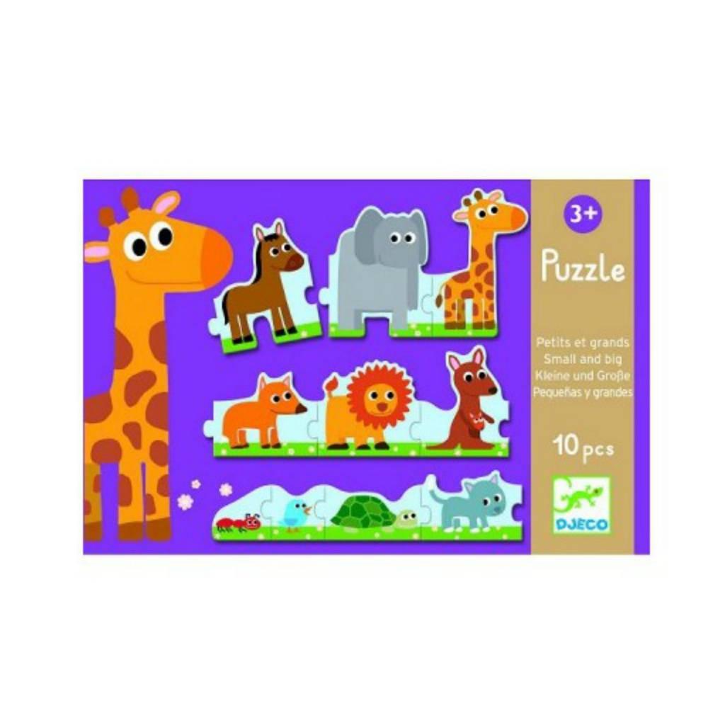 Djeco Puzzle duo / Petits et grands