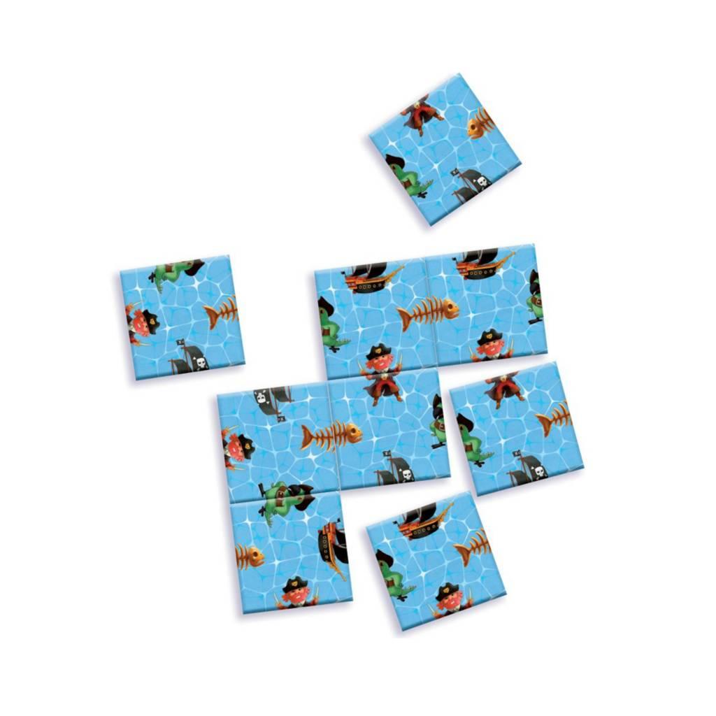 Djeco Mini logix / Puzzle impossible des pirates